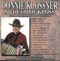 "Donnie Klossner "" A Touch Of Kloss """