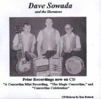 "Dave Sowada And The Sheratons "" Prior Recordings Now On CD """