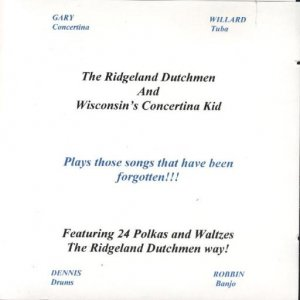 Ridgeland Dutchmen Plays Those Songs That Have Been