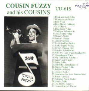 "Cousin Fuzzy And His Cousins "" CD - 615 """