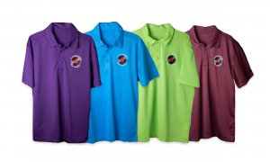 Cy Pfannenstein Music Service Embroidered Polo Shirt