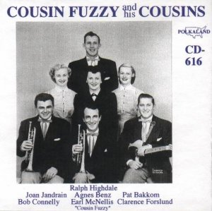 "Cousin Fuzzy And Hiis Cousins "" CD - 616 """