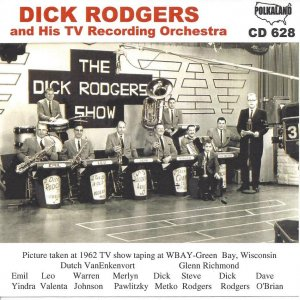 Dick Rodgers And His T.V. Recording Orchestra CD - 628
