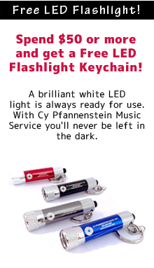 Free LED Flashlight with $50 or more purchase