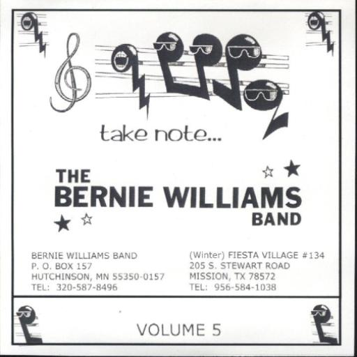 "Bernie Williams Band Vol. 5 "" Take Note "" - Click Image to Close"