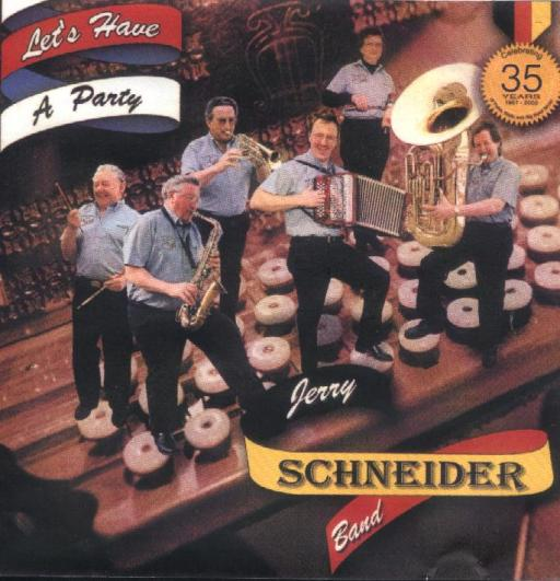 "Jerry Schneider Band "" Let's Have A Party "" - Click Image to Close"