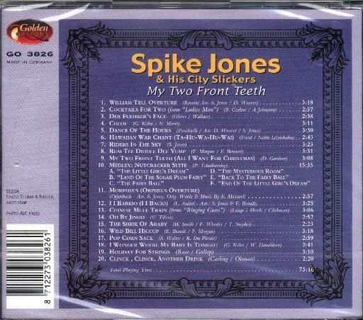 Spike Jones & His City Slickers - My Two Front Teeth - Click Image to Close