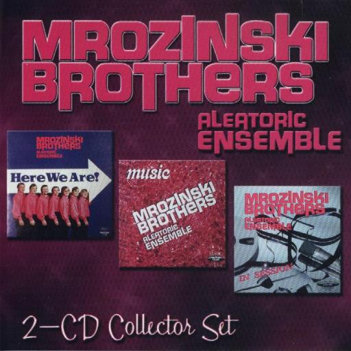 "Mrozinski Brothers "" Aleatoric Ensemble "" 2 CD Collector Set - Click Image to Close"